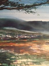 Michael Schofield Hand Signed Numbered 582 Of 750 / En Plein Lithograph