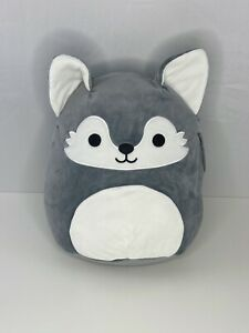 """CANADA EXCLUSIVE ULTRA RARE Squishmallows Willy the Wolf 12"""" Plush Toy BNWT"""