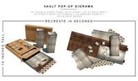 Extreme Sets VAULT Pop-Up S6 Figure Diorama environment 1/12 in stock new!