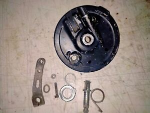 HONDA XL250S (80 to 81) FRONT BRAKE PLATE, LEAVER AND SPEEDO DRIVE.
