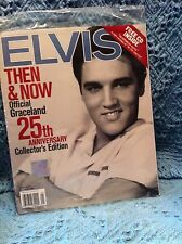 NOS 2002 ELVIS THEN/NOW OFFICIAL GRACELAND 25TH ANNIVERSARY COLLECTOR'S EDITION