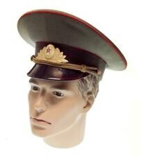 Peaked cap Tank Officer Hat Military Soviet Army Russian Uniform Cap USSR