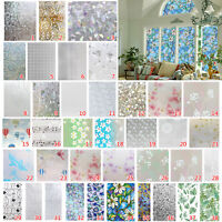 45X200cm Bedroom Bathroom Home Glass Window Privacy Film Sticker PVC Frosted