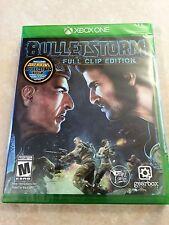 Bulletstorm: Full Clip Edition (Microsoft Xbox One, 2017) PS4 NEW