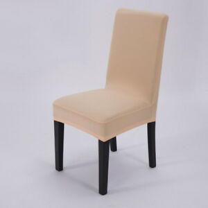 Stretch Dining Chair Covers Chair Protector Slipcover Decor Spandex 14 Colour