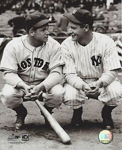 LOU GEHRIG & JIMMIE FOXX 8X10 PHOTO RED SOX YANKEES NY BASEBALL PICTURE MLB