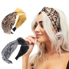 Fashion Women's Cross Headband Hairband Wide Hair Band Hoop Accessories Headwear