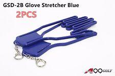 Durable Outdoor Sport Golf Gloves Glove Stretcher Shaper Extend Blue Chain 2pcs