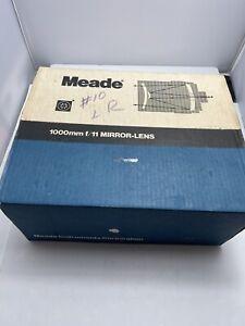 Meade 97er Maksutov Spotting Scope, 1000mm F/11 Mirror-lens, Armored Rubber Rare
