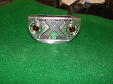 """scotty cameron titleist select mallet 1 34""""  with cover"""