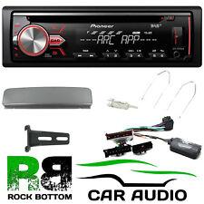 Ford Galaxy 2000 - 2006 Pioneer DAB + CD MP3 USB Automóvil Estéreo Kit Fascia Y Gris