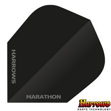 Harrows Marathon Anti Glare Flights - 100 micron - Black