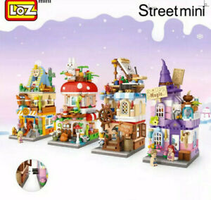 BNIB LOZ Mini Street View City Series Loz Creator LOZ Buildings Magic Street Set