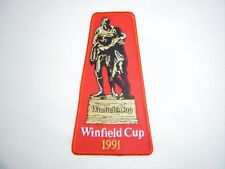 WINFIELD CUP 1991 GRAND FINAL PATCH - CANBERRA RAIDERS PENRITH PANTHERS JERSEY