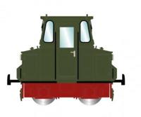 Rivarossi HR2786 HO Gauge DR ASF72 Shunting Tractor IV