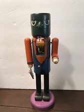 "Frankenstein Monster Wooden Halloween NutCracker Undated 10"" F"