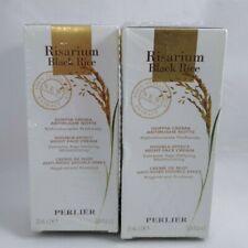 Risarium Perlier Black Rice Night Face Cream .84 Oz Lot Of 2. Sealed