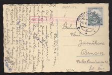 Czechia Moravia Bohmen und Mahren 1942 Postcard Cover Pustevny Skiing Hospital