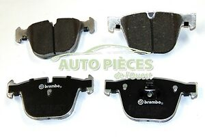 PLAQUETTES DE FREIN ARRIERE 4 PLAQUETTES AR BMW SERIE 3 E90 M3 BREMBO 07.B315.02