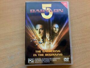 Babylon 5 - The Gathering / In The Beginning 2-Movie Set (DVD 2001) R4 VGC
