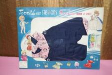 "Terri Lee Pedal Pushers & Shirt Nrfp 1950's 16"" Doll 3520C Pink & Blue"