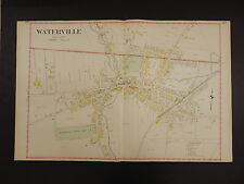 New York, Oneida County Map, 1907 City of Waterville, Double Page R3#05