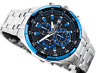Casio Edifice Men Watch EFR-539D-1A2V Chronograph Quartz Stainless Steel