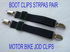 Botte sangle pantalon clips élastiques réglables moto vélo étriers dinar jordanien clips 2pcs