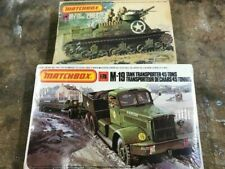 Lot of Matchbox WWII Army M-7 & M-19...Kits PK-89 & PK-174...1/72....MINT