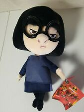 "Nwt 12"" Disney Store The Incredibles Edna Plush Doll"