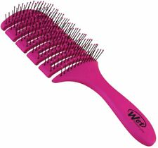 The Wet Brush Flex Dry Paddle Brush Vented Heat Flex Blowout Drying Pink