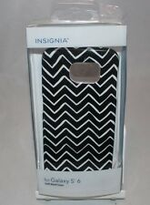 Insignia™ - Case for Samsung Galaxy S 6 Cell Phones - Black White FREE SHIPPING