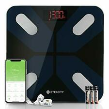 Smart Body Fat Scales, Etekcity Digital Bathroom Scale Bluetooth Weighing