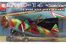 """ZTS PLASTYK S053 1/72 RWD-14 """"Czapla"""" Lotnictwo węgierskie (Hungarian service)"""
