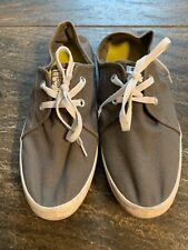 CONVERSE ALL Star Grey Lace Up Loafers Mens 11 Womens 12.5 Sneakers