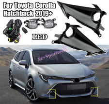 Front bumper drive fog lamp harness Kit For 2019-2021 Toyota Corolla Hatchback
