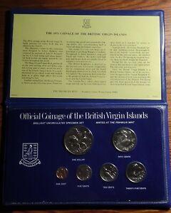 British Virgin Islands 1975 Mint set, w/original pack COA(Sterling Dollar)