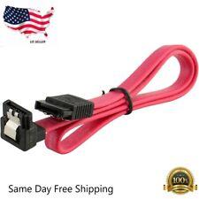 "18"" SATA 3.0 Cable SATA3 III 6GB/s Right Angle 90 Degree for HDD Hard Drive"