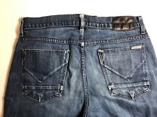 Hudson Wilde Relax Straight Jeans Button Fly 33x33