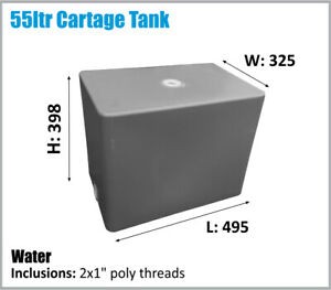 55LTR. AUSSIE MADE. CAMPING.WATER TANK. UTE TOYOTA NISSAN ETC ASK FREIGHT PRICE.