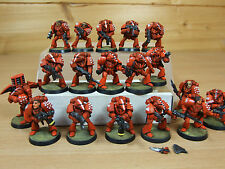 18 PLASTIC ROGUE TRADER ERA SPACE MARINE RBT01 WELL PAINTED (153)