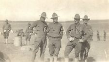 WWI Original Army RP- Cavalry- Rifle Range- Tin Cup- Camp MacArthur- Waco Texas