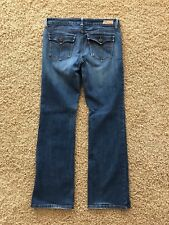 Levi's 545 Low Rise, Boot Cut, Distressed, Flap Pockets, Womens Sz 10M (31x30)