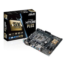 Asus H110M-PLUS Motherboard 6th Gen Core i7/i5/i3/Pentium/Celeron Socket 1151
