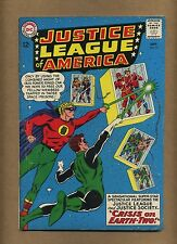 Justice League of America 22 (Solid!) Crisis on Earth-Two; JSA x-over (c#13916)