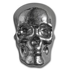 5 oz Silver Skull - Atlantis Mint - SKU #152273
