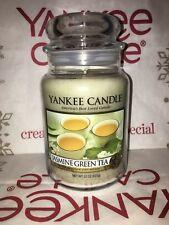 Jasmine Green Tea Yankee Candle 623g 22oz Large Jar - Brand New Genuine