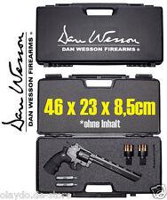 Revolver Transportkoffer Dan Wesson 46x23x8 Waffenkoffer Kunsstoff abschliessbar