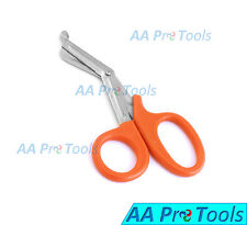 "AA Pro: Utility Scissors 5.5"" Orange Color Emt Medical Paramedic Nurse Scissor"
