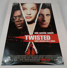 TWISTED ORIGINAL MOVIE THEATER POSTER NOT A REPRINT ASHLEY JUDD SAMUEL L JACKSON